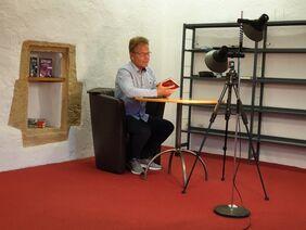 Lesung mit dem Autor Fabian Lenk in Gerolzhofen / © Julia Rehder